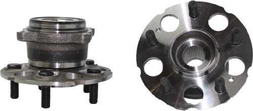 Brand New (Both) Rear Wheel Hub and Bearing Assembly for Acura RDX Honda CR-V 4x4 (Pair) 512345 x 2 by Detroit Axle