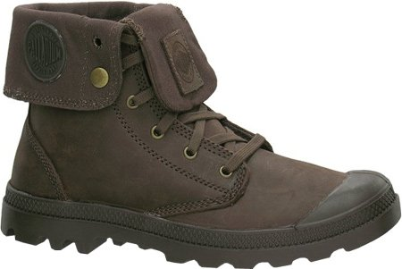 Palladium Baggy Leather , Boots En Cuir, Marron Clair 243 Walnut - Marron