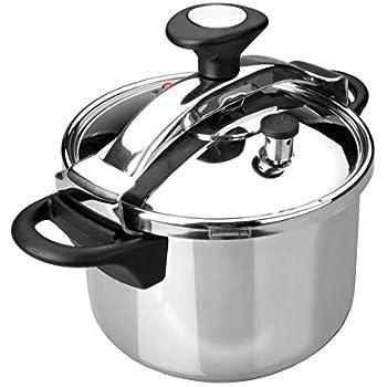 Amazon Com Lacor 71872 Classic Pressure Cooker 12 Lit Kitchen