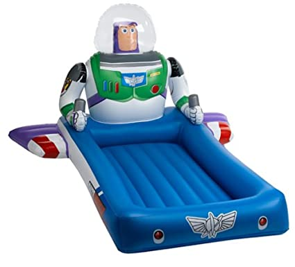 Toy Story And Beyond Buzz Lightyear Ready Bed With Foot Pump