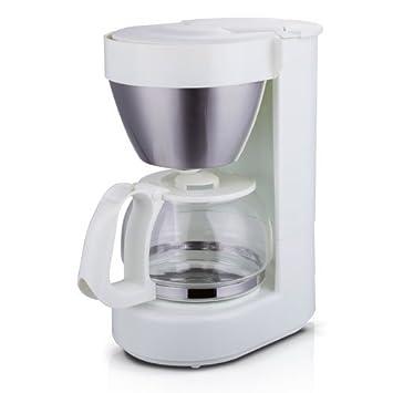 TM Electron Cafetera de jarra con filtro por goteo, capacidad para 4 a 6 tazas, 650 ml, 600W, color blanco: Amazon.es: Hogar