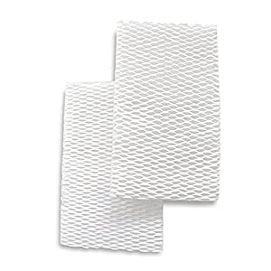 Crane USA Accessories - Set of 2 Humidifier Filters for the 2-in-1 Evaporative Humidifier & Air Purifier - Humidifier Filters reduce white dust and minerals in the water