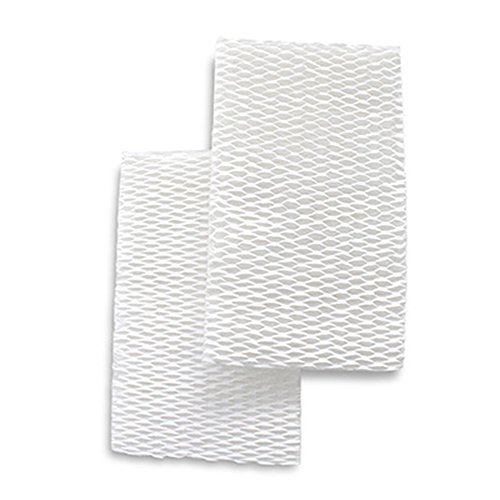 Crane USA Accessories - Set of 2 Humidifier Filters for the 2-in-1 Evaporative Humidifier & Air Purifier - Humidifier Filters reduce white dust and minerals in the water (Two Cranes)