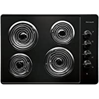 Frigidaire: FFEC3005LB 30 Electric Cooktop with 4 Coil Heating Elements and Ready-Select Controls: Black