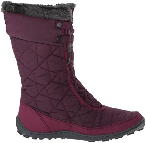 Columbia Women's Minx Mid II Omni-Heat Snow Boot, Purple Dahlia, Ancient Fossil, 10 B US by Columbia (Image #7)