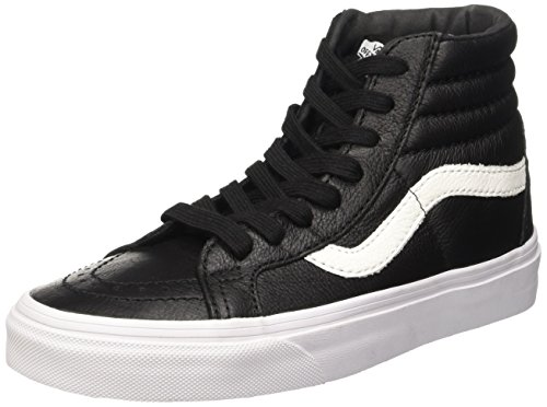 Nero Leather Sneakers Leather U Vans Premium Hi Reissue Black Sk8 Unisex KPRya