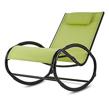 Blumfeldt Retiro H61 M-P31 • silla mecedora silla de jardín · ruedas ovaladas para dondolare · Tubo ...
