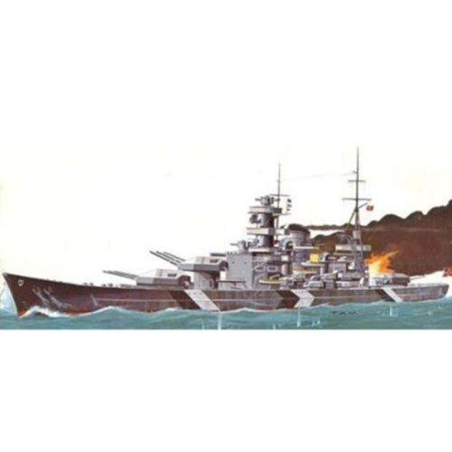 (German Battleship Model Kit - Scharnhorst)