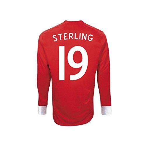 民兵無一文レビューUmbro STERLING #19 England Away Jersey Long Sleeve/サッカーユニフォーム イギリス アウェイ用 長袖 背番号19 スターリング