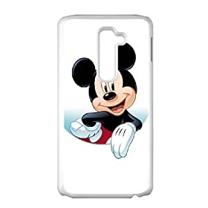 Disney Mickey Mouse Minnie Mouse LG G2 Cell Phone Case White DIY Gift xxy002_0375109