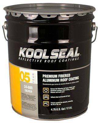 KST COATING KS0024600-20 Aluminum Roof Coat, 5 gallon by Kst Coating