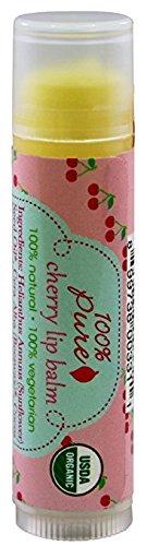 100% Pure Cherry Lip Balm Stick, 0.15 Ounce