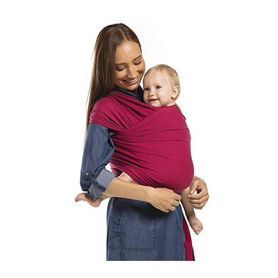 Boba Wrap Baby Carrier Sangria