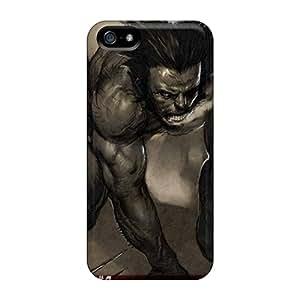 New Woverine Tpu Case Cover, Anti-scratch Hgr6946oSOf Phone Case For Iphone 5/5s