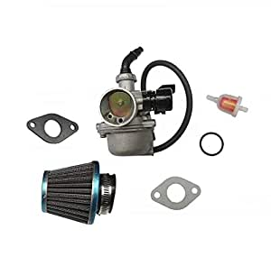 carburetor w air fuel filter pz19 carb for. Black Bedroom Furniture Sets. Home Design Ideas