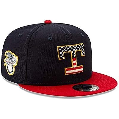 New Era Texas Rangers 2019 Stars & Stripes 4th of July 950 9FIFTY Snapback Adjustable Cap Hat