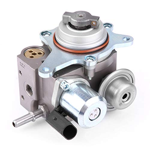 Cuque 13517573436 High Pressure Fuel Pump for MINI Cooper S Turbocharged R55 R56 R57 R58 R59 Clubman Cabrio Coupe Roadster JCW John Cooper Works Models N14 Engine Replacement Part Silver Iron Oil Pump