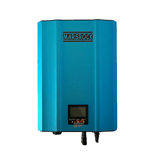 Solar Tie - 1000W MPPT Solar Grid Tie Micro Inverter with IP65,170-220Volt DC, 220Volt (190-260Volt AC) or 120Volt (90-140Volt AC),LED&LCD for Solar Panel System (Blue, AC 120Volt 60Hz)