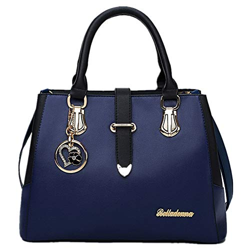 1f5dde80c986 FTSUCQ Womens Love Satchels Shoulder Handbags Casual Messenger Bag Hobos  Satchels Purse (Blue)