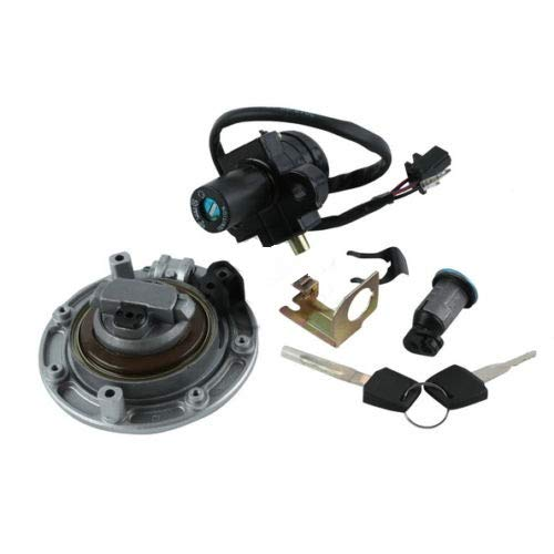 (New Fuel Gas Cap Ignition Switch Lock Key For Honda CB400)