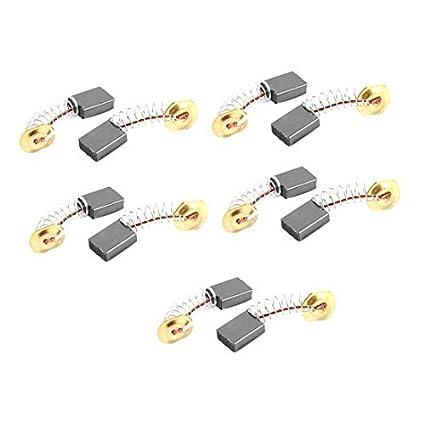 Amazon.com: eDealMax 10 piezas de carbono eléctricos Cepillos de ...