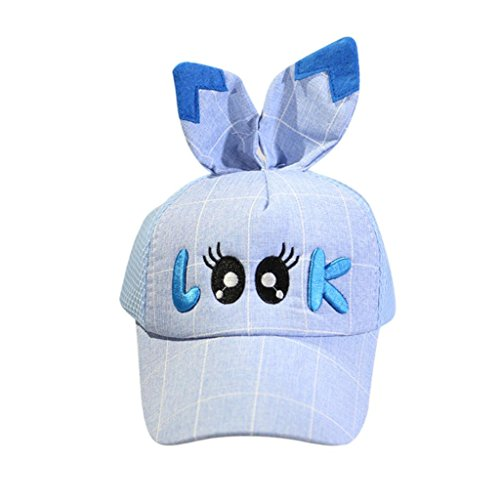 General3 Baby Hat, Kids Child Cute Eyes Expression Bongrace Hat Embroidery Peak Baseball Cap Sunhat