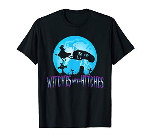 (Witches With Hitches Trailer RV Camp Halloween Quote)