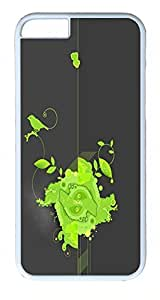 ACESR Abstract iPhone 6 Hard Shell Case Polycarbonate Plastics Rugged Case for Apple iPhone 6(4.7 inch) White