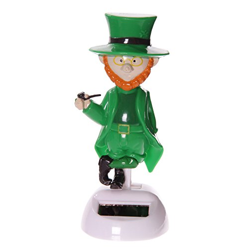 Puckator Ff52solar Elf Figurine Green/orange/white Plastic, 6x]()