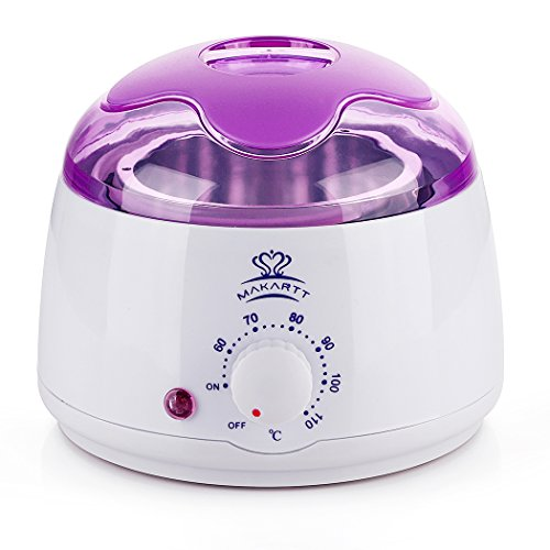 Wax Warmer Hair Removal - Makartt Hair Removal Machine Hard Hot Wax Warmer Melter Heater Electric Depilatory Waxing 14 oz