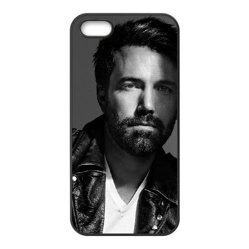 Ben Affleck 001 coque iPhone 4 4S cellulaire cas coque de téléphone cas téléphone cellulaire noir couvercle EEEXLKNBC23499