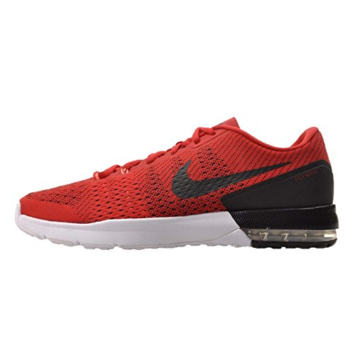 Nike Men's Air Max Typha Training Shoe University Red/Black/Bright Mango/White Size 10 M US Black White Red Shoes