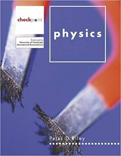 Book Checkpoint Physics Pupil's Book (Checkpoint Science) by Peter Riley (2005-10-30)