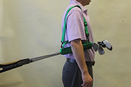 C12 A99 Golf Funky Caddy Golf Bag Driving Range Carrier Sleeve Light with velcro by A99 Golf (Image #5)