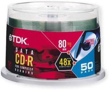 52x Cakebox CD-R 700MB 501356- CD-RW 52x, Cakebox, CD-R, 700MB, 50 /÷ 80 min, 52x, Kuchenbox TDK CD-R 80 // 700MB