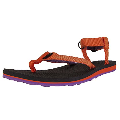 Teva Women's Original Sandal,Orange/Purple,7 M US