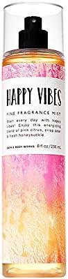 Bath and Body Works Fine Happy Vibes Fragrance Mist 8 Fluid Ounce