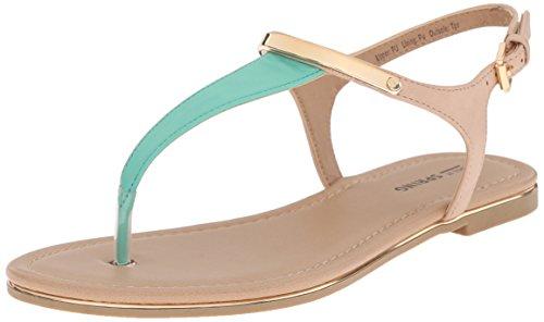 Women's Spring Green Gwaleviel Sandal Flat Call It Light wHAqnZ