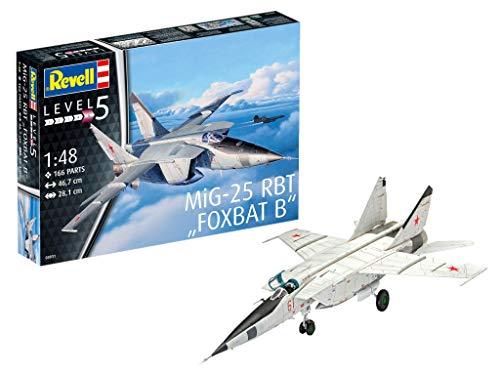 Revell Germany MiG-25 RBT Model Kit Model Building Kit ()