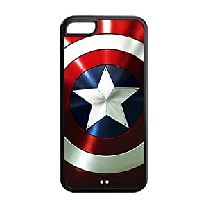 Marvel Comic Captain America Iphone 5c Hard Case Back Cover