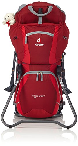 DEUTER Kid Comfort 2 Backpack, Red/Grey by Deuter