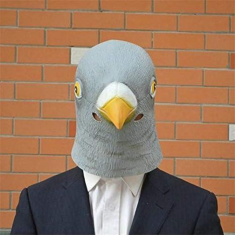 WSJDE Máscara de Paloma de látex Gigante Cabeza de pájaro ...