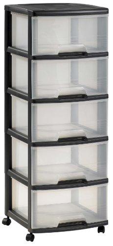 colonne de rangement plastique pas cher. Black Bedroom Furniture Sets. Home Design Ideas