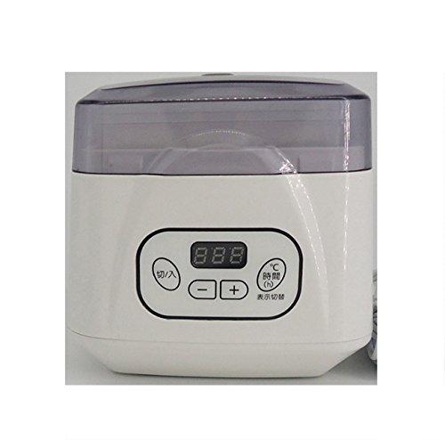 Automatic Yogurt Machine Automatic Power Off Adjustable Temperature Time Yoghurt Maker Premium Digital Yogurt Maker Yogurt Natto Rice Wine Machine Yoghurt Jars 700ML,15W (Edition : - Charcoal Natto