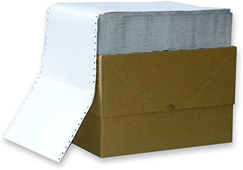 Endlospapier 6 Zoll x 240 mm (A5 quer 152,4 mm x 240 mm) 4-fach blanko farbig 60/53/53/57 g/qm 1000 Blatt