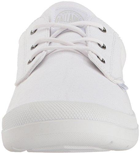 white Basses Femme Blanc Palladium Sneakers Voyage gunmeatal white Ow1qxa