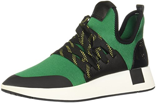 Steve Madden Womens Shady Sneaker Green Multi
