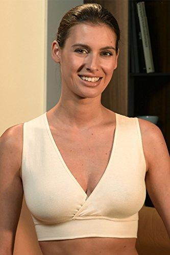 Engel Axil - Sujetador premamá y de lactancia - básico - para mujer naturaleza