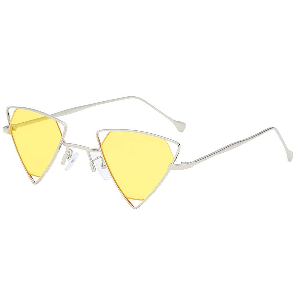 Molyveva Heart Shaped Retro Sunglasses for Women Party Favors Supplies Eye Wears