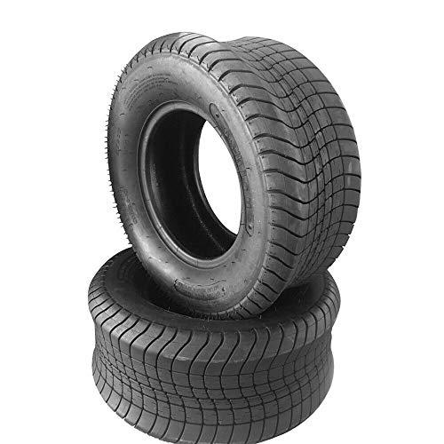 (2Pcs Trailer Tubeless Tires 205/65-10 Load Range E 10 Ply Bias Trailer Tires 20.5/8-10 20.5/800-10 P825)